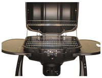 The Meg-a-Que Grill by Keg-a-Que offers plenty of grilling space to feed your party