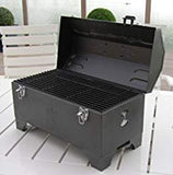 Portable Keg-a-Que Charcoal Tabletop Grill
