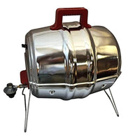 Keg-a-Que 3-in-1 Gas, Charcoal and Smoker Grill