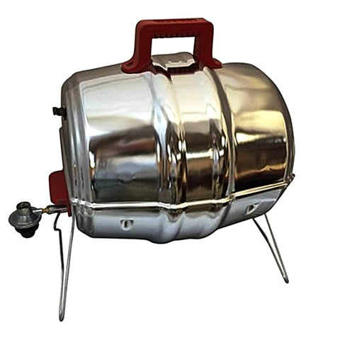 Keg-a-Que 3-in-1 Propane, Charcoal, and Smoker Grill
