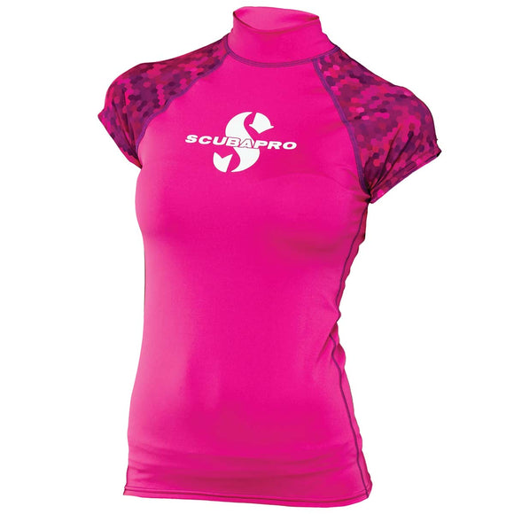 Scubapro UPF 50 WOMEN'S CAP SLEEVE RASH GUARD