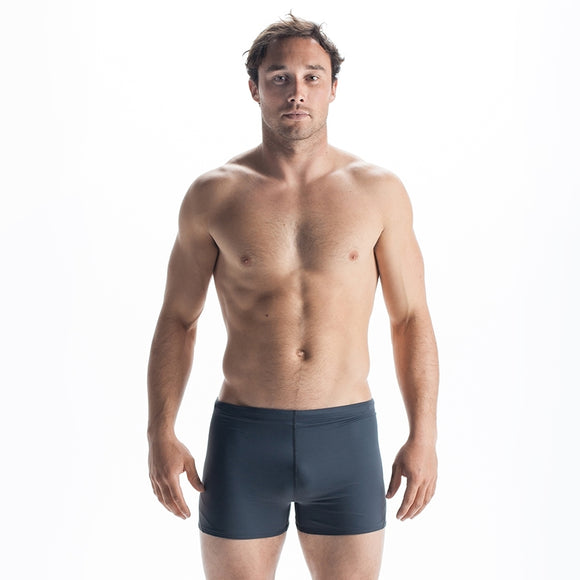 OCEAN POSITIVE CAYMAN - SWIM SHORTS BLACK/CHARCOAL