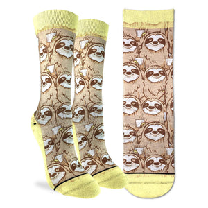Coffee Sloth Socks