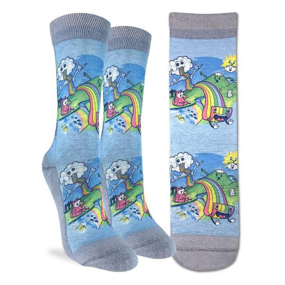 Eating Rainbows Socks
