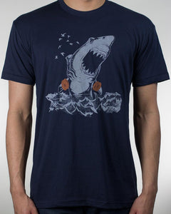 "T-Shirt Great White ""Safety Shark"""