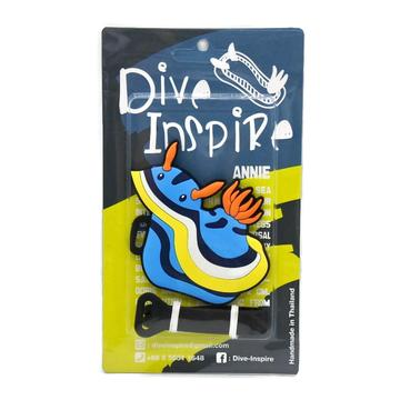 Annie Nudibranch Luggage Tag