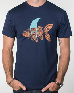 "T-Shirt Blue Endeavors ""Dream Big"" Fish Shirt"