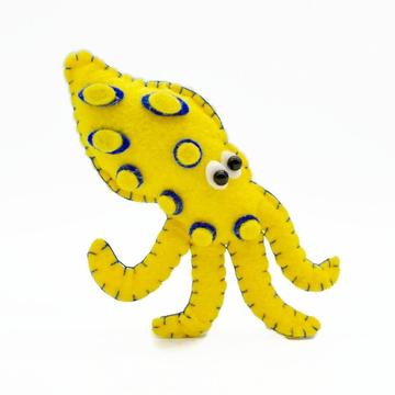 Looney Blue-Ringed Octopus Magnet