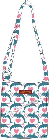 Dolphin Small Messenger Bag