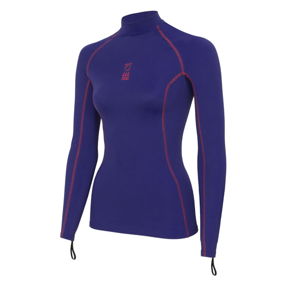 OCEAN POSITIVE WOMEN'S HYDROSKIN LONG SLEEVE PINK/PURPLE