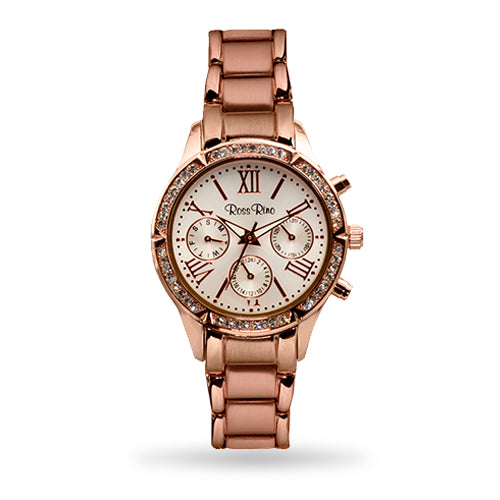 The Pegasus - Elegant Rose Gold Multifunction Ladies