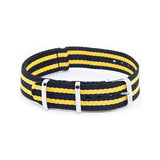 Yellow stripe strap