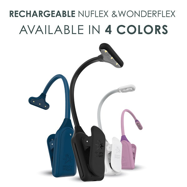 WonderFlex Rechargeable and NuFlex Rechargeable by Mighty Bright