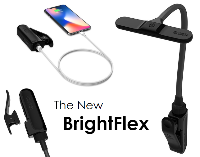 The BrightFlex Rechargeable Light and Battery Bank