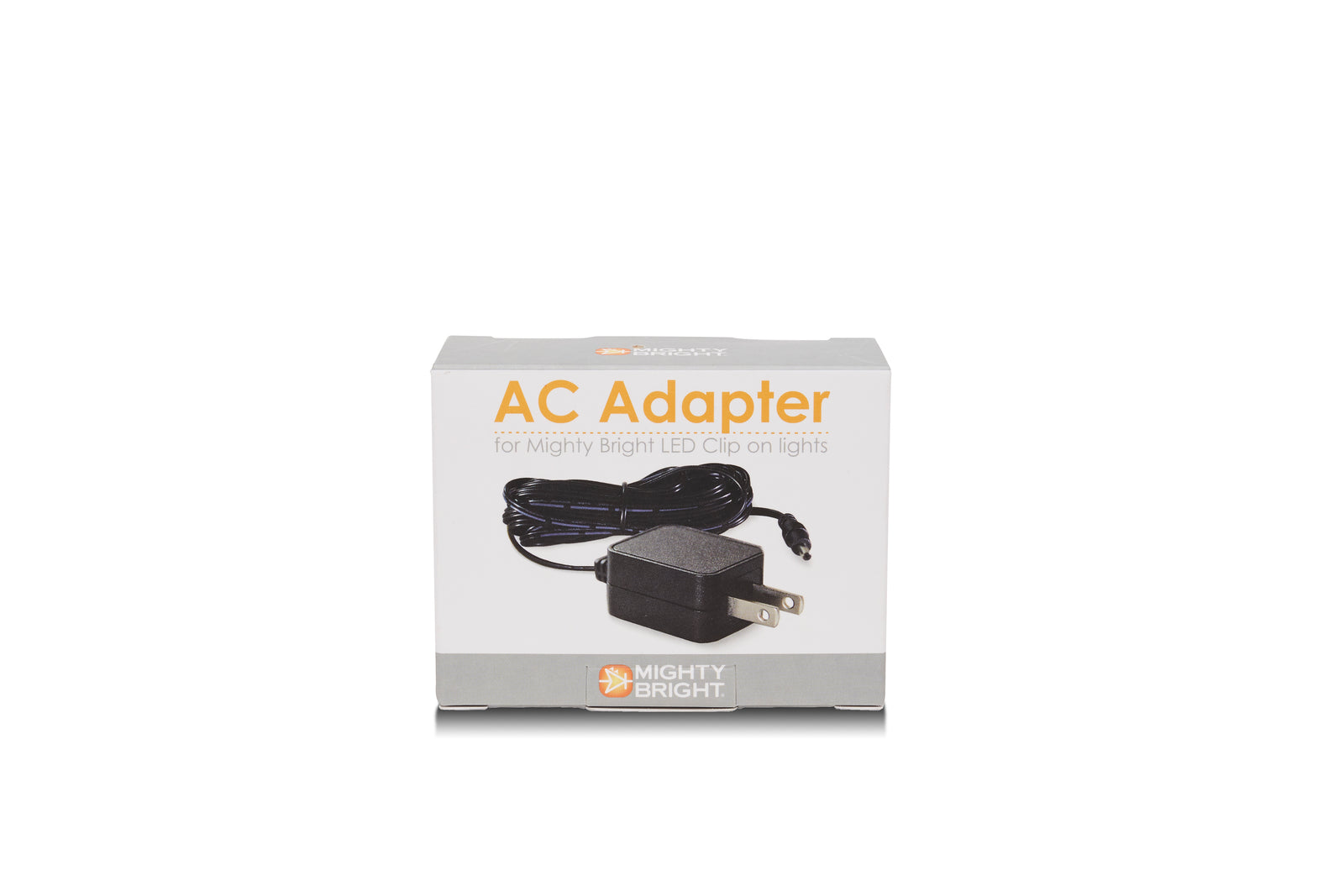 AC Adapter for Mighty Bright products - US version - packaging view