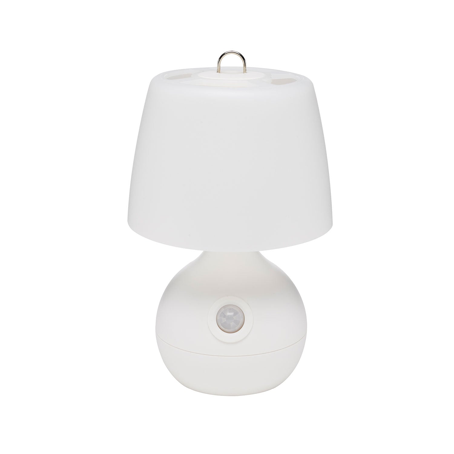 Motion-Activated Low-Light LED Light for Baby Nursery - front view, white