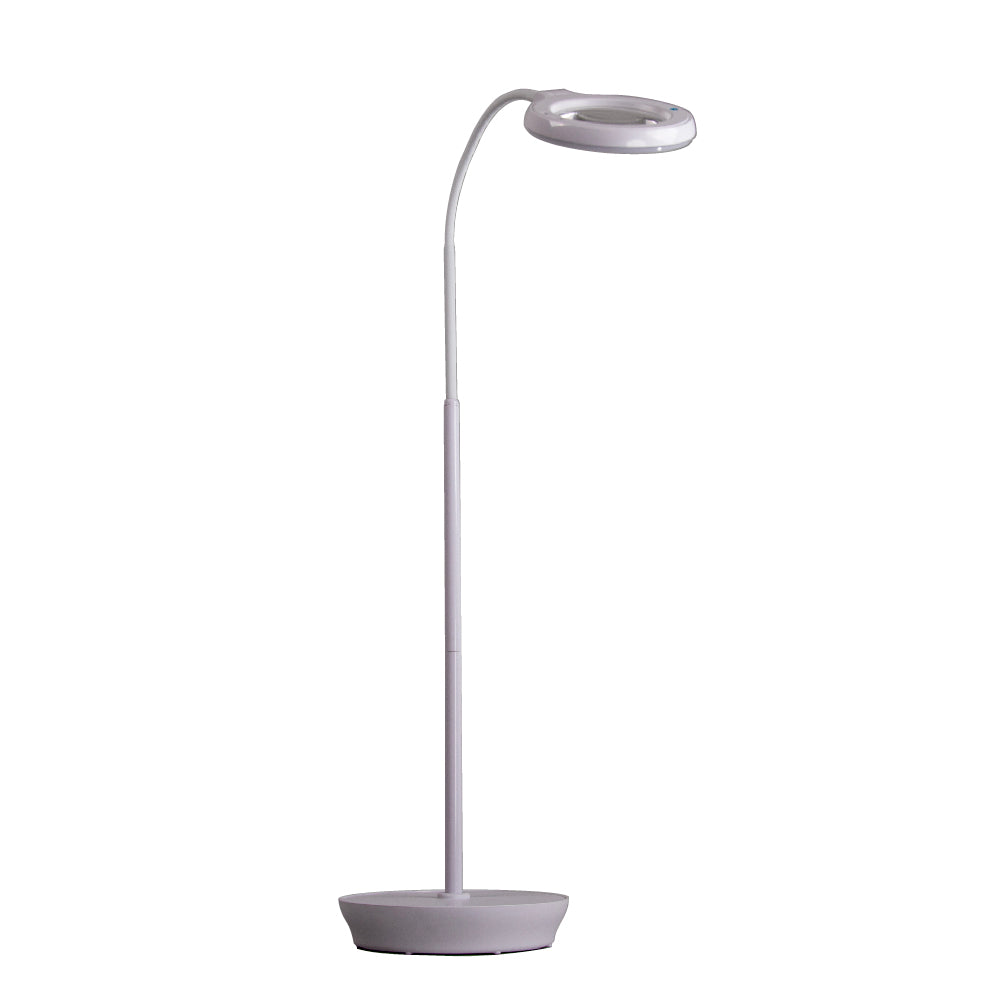 Rechargeable LED Floor Light and Magnifier Lamp