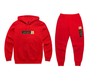 bab85dc5c94832 Jordan x OVO Sweatpants Red – Theshuniversity