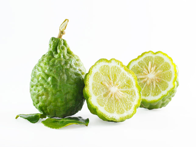 sliced bergamot fruit