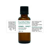 bottle of fennel essential oil