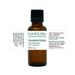 bottle of frankincense essential oil