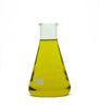 lemon essential oil in beaker