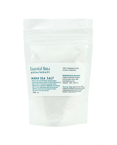 pouch of mayan sea salt