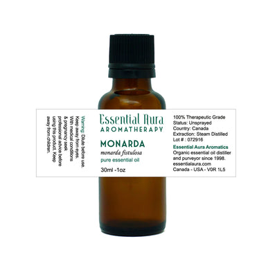 bottle of Monarda Essential Oil