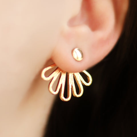 Petal Gold Ear Jacket