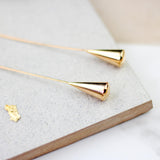 Statement Gold Dangle Earring