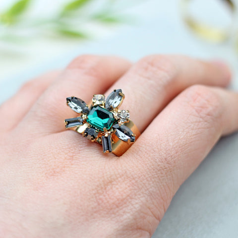 Statement Flower Ring