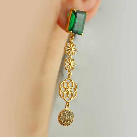 Statement Dangle Earring