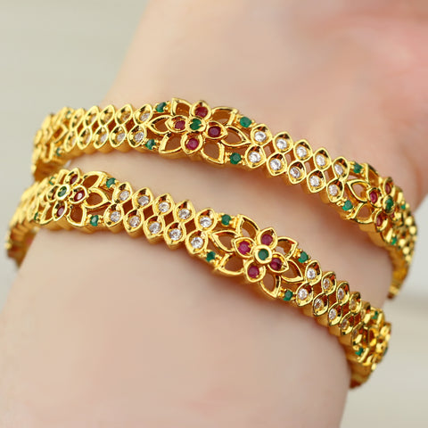 Kundan Bangle Pair