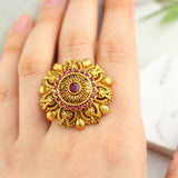 Antique Pink Ring