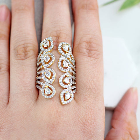 Statement Zircon Ring