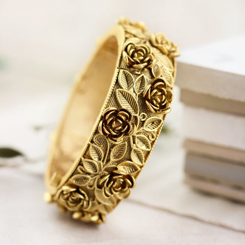 Rose Statement Bangle