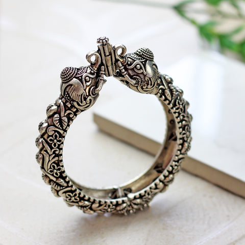 Statement Elephant Tribal Bangle