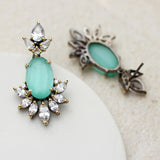 Statement Zircon Drop Earring