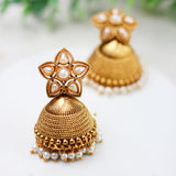 Antique Pearl Jhumke
