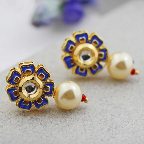 Small Pearl Stud Earring