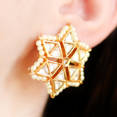 Statement Star Stud Earring