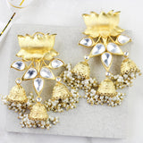 Lotus Statement Jhumki Earring