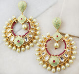 Statement Bridal Mint Earring