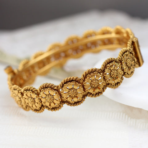 Antique Flower Bangle