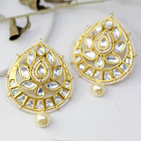 Statement Lotus Drop Earring