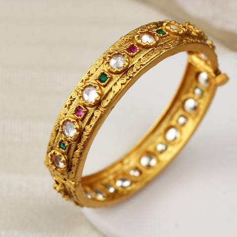 Kundan Multicolour Bangle