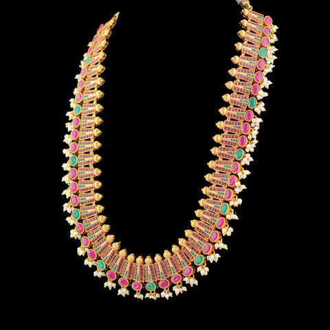 Statement Tribal Gold Mala