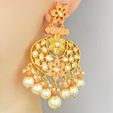 Statement Bridal Drop Earring