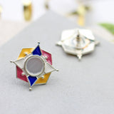 Kite Multicolour Stud Earrings