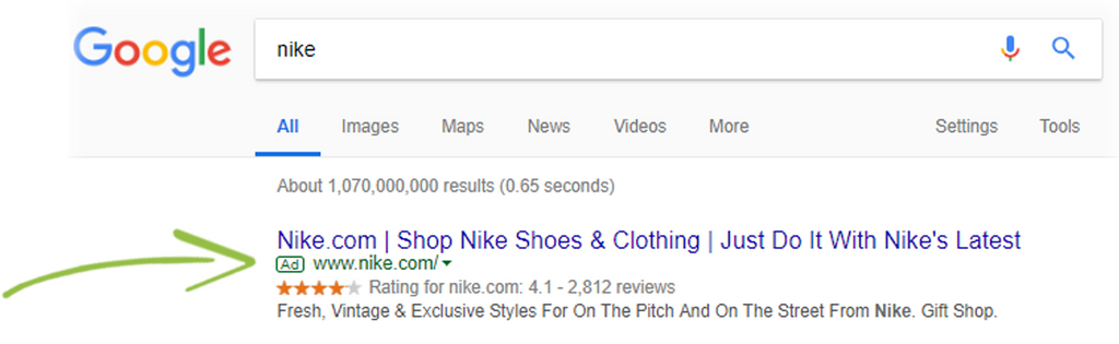 google adwards for shopify